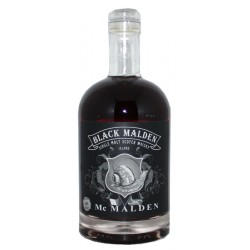 Whisky Black Malden Island Single Malt Scotch