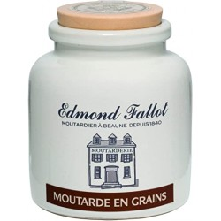 Moutarde à l'ancienne pot en grès